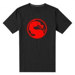 Мужская стрейчевая футболка Mortal Combat - FatLine