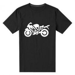 Мужская стрейчевая футболка MOTO SPORT - FatLine