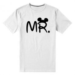 Мужская стрейчевая футболка Mr. - FatLine