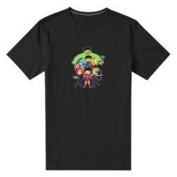 Мужская стрейчевая футболка Мститети в сборе - FatLine