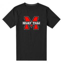 Мужская стрейчевая футболка Muay Thai Big M - FatLine