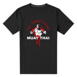 Мужская стрейчевая футболка Muay Thai Full Contact - FatLine
