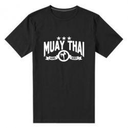 Мужская стрейчевая футболка Muay Thai Hard Body - FatLine