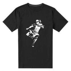 Мужская стрейчевая футболка Muay Thai Low Kick - FatLine