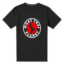 Мужская стрейчевая футболка Muay Thai Planet - FatLine