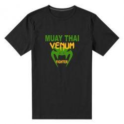 Мужская стрейчевая футболка Muay Thai Venum Fighter - FatLine