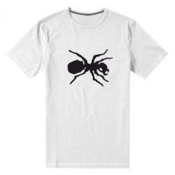 Мужская стрейчевая футболка Муравей - FatLine