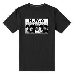 Мужская стрейчевая футболка N.W.A. - FatLine