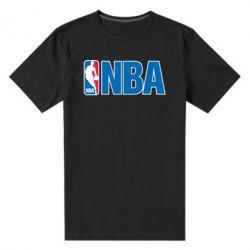 Мужская стрейчевая футболка NBA Logo