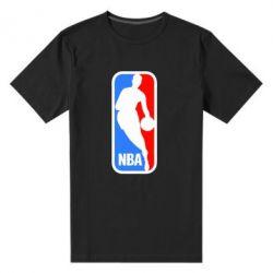 Мужская стрейчевая футболка NBA - FatLine