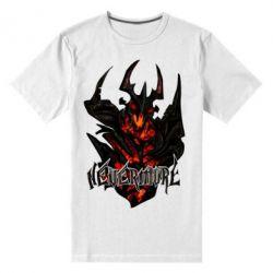 Мужская стрейчевая футболка Nevermore Art