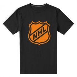 Мужская стрейчевая футболка NHL - FatLine