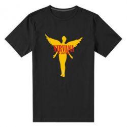 Мужская стрейчевая футболка Nirvana In Untero - FatLine