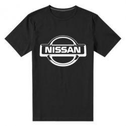 Мужская стрейчевая футболка Nissan Logo