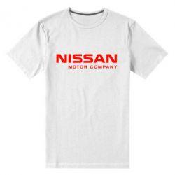 Мужская стрейчевая футболка Nissan Motor Company - FatLine