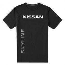 Мужская стрейчевая футболка Nissan Slyline - FatLine