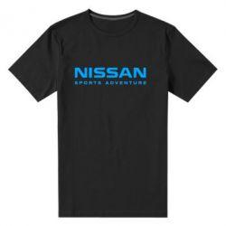 Мужская стрейчевая футболка Nissan Sport Adventure - FatLine