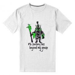 Мужская стрейчевая футболка no sorcery lies beyond my grasp - FatLine