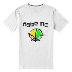 Мужская стрейчевая футболка Noize MC Logo - FatLine