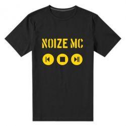 Мужская стрейчевая футболка Noize MC player - FatLine