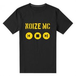 Мужская стрейчевая футболка Noize MC player