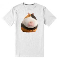 Мужская стрейчевая футболка Norman - FatLine