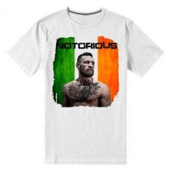 Мужская стрейчевая футболка Notorious - FatLine