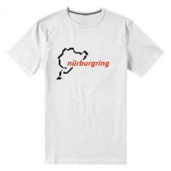Мужская стрейчевая футболка Nurburgring - FatLine