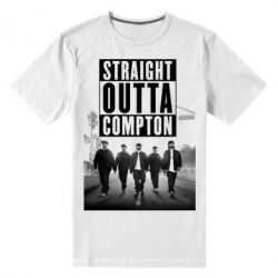 Мужская стрейчевая футболка NWA in da streets