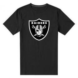 Мужская стрейчевая футболка Oakland Raiders - FatLine