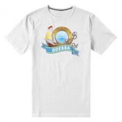 Мужская стрейчевая футболка Одесса - FatLine