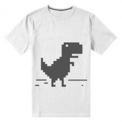 Мужская стрейчевая футболка Offline T-rex - FatLine