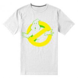 Мужская стрейчевая футболка Охотники за привидениями - FatLine