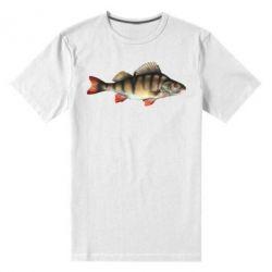 Мужская стрейчевая футболка Окунь - FatLine
