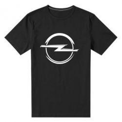 Мужская стрейчевая футболка Opel Log - FatLine