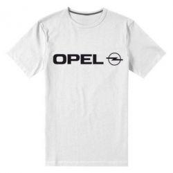 Мужская стрейчевая футболка Opel Logo - FatLine
