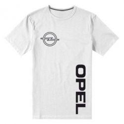 Мужская стрейчевая футболка Опель - FatLine