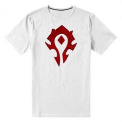 Мужская стрейчевая футболка Орда - FatLine