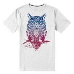 Мужская стрейчевая футболка Owl Art - FatLine