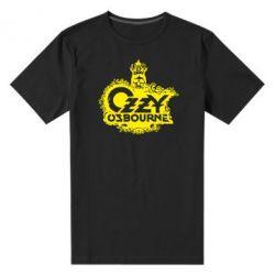 Мужская стрейчевая футболка Оззи Озборн