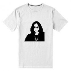 Мужская стрейчевая футболка Ozzy Osbourne face - FatLine