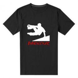 Мужская стрейчевая футболка Parkour Run