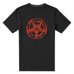 Мужская стрейчевая футболка Пентаграмма - FatLine