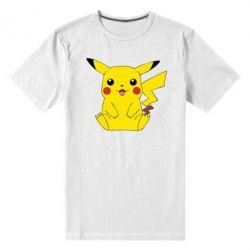 Мужская стрейчевая футболка Pika - FatLine