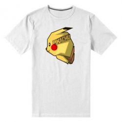 Мужская стрейчевая футболка Pikachu - FatLine