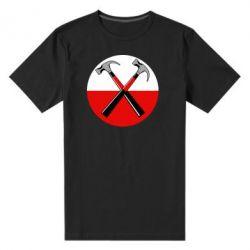 Мужская стрейчевая футболка Pink Floyd Main Logo - FatLine