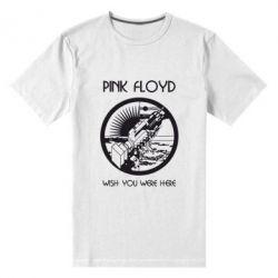 Мужская стрейчевая футболка Pink Floyd Wish You - FatLine
