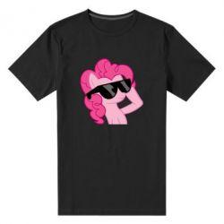Мужская стрейчевая футболка Pinkie Pie Cool