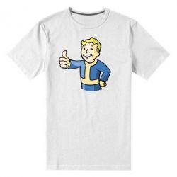 Мужская стрейчевая футболка Pip boy fallout - FatLine