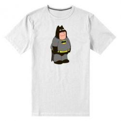 Мужская стрейчевая футболка Питер Гриффин Бэтмен - FatLine
